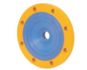 Lined Reducing Flanges Manufacturer, Supplier, and Exporters - Sigma Polymers Engineering Company in Gujarat, India