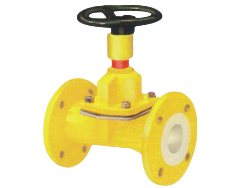 Pfa/fep Lined Diaphragm Valve Gujarat, India