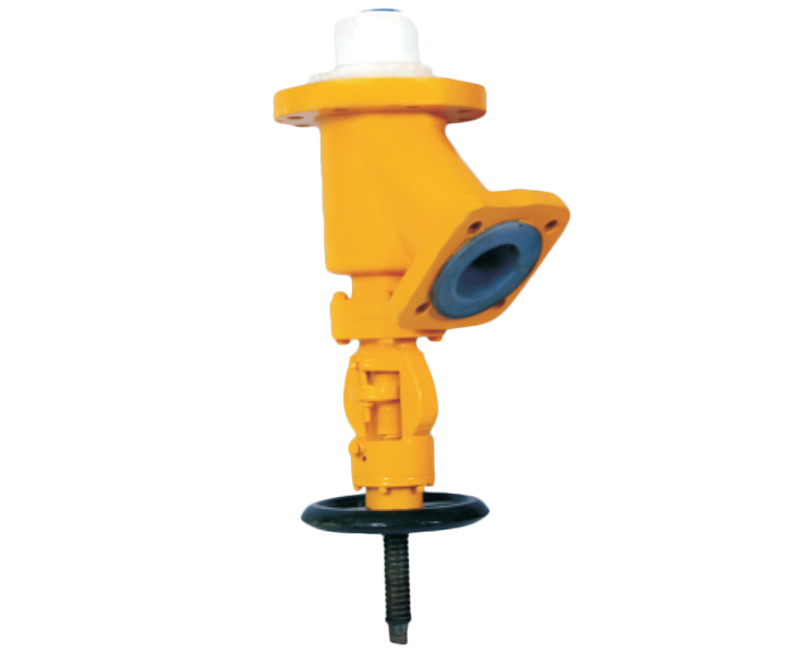 Pfa/fep Lined Flush Bottom Valve Gujarat, India