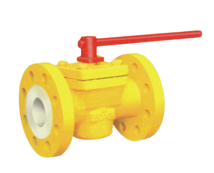 Pfa/fep Lined Plug Valve Gujarat, India