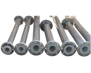 Stainless Steel Lined Pipes And Fittings Manufacturer, Supplier, and Exporters - Sigma Polymers Engineering Company in Gujarat, India