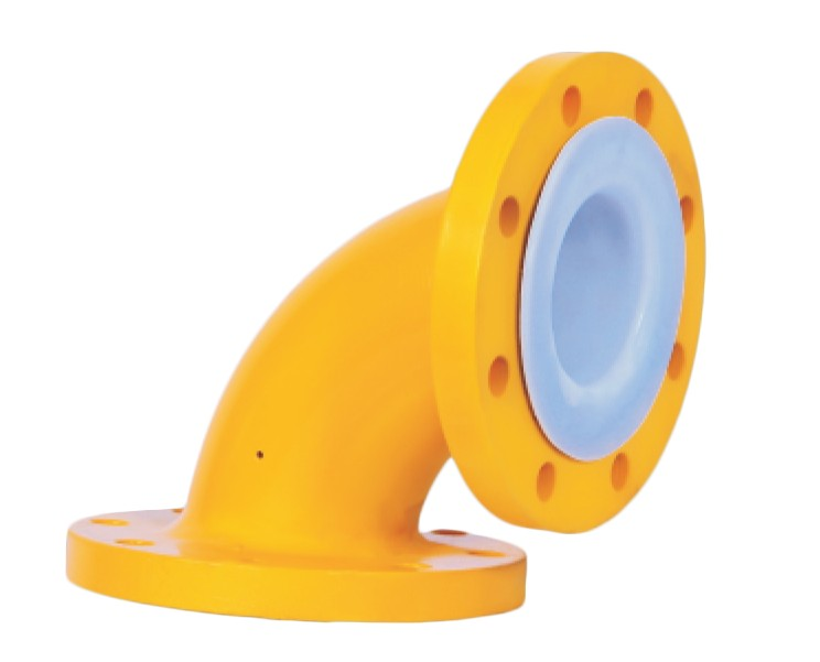 PTFE Elbow, 90° Elbows, PFE / HDPE / PP Lined 90° Elbows Manufacturers in India