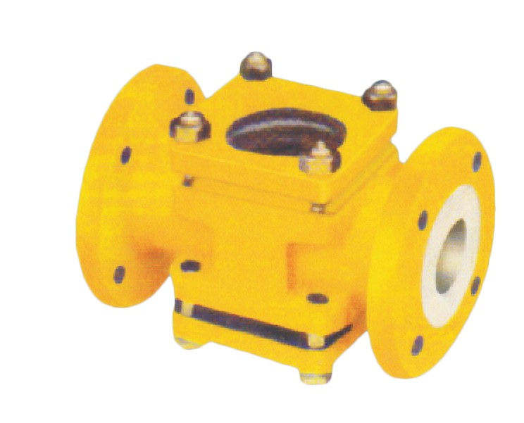 Teflon Lined Sight Flow Indicator, MS FEP / PFA / HDPE / PP Lined Sight Flow Indicators Manufacturers in Gujarat, India