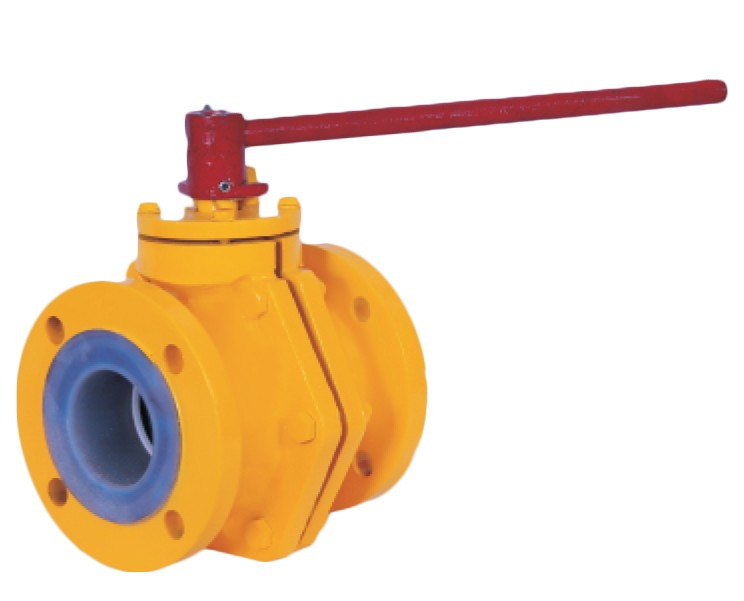 PFA / FEP Lined Ball Valve Manufacturer, Supplier, and Exporters - Sigma Polymers Engineering Company in Gujarat, India