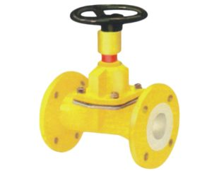Manufacturer, Supplier, and Exporters of PFA / FEP Lined Diaphragm Valve in Gujarat, India - Sigma Polymers Engineering Company