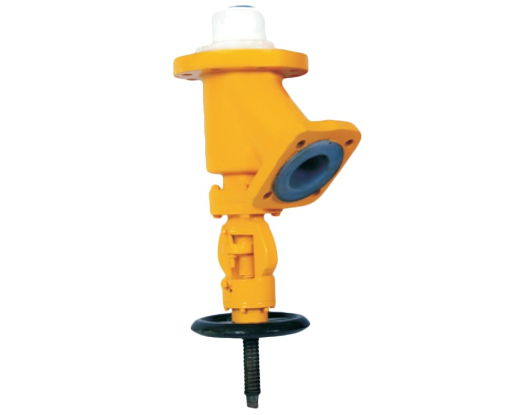 PFA / FEP Lined Flush Bottom Valve Manufacturer, Supplier, and Exporters - Sigma Polymers Engineering Company in Gujarat, India