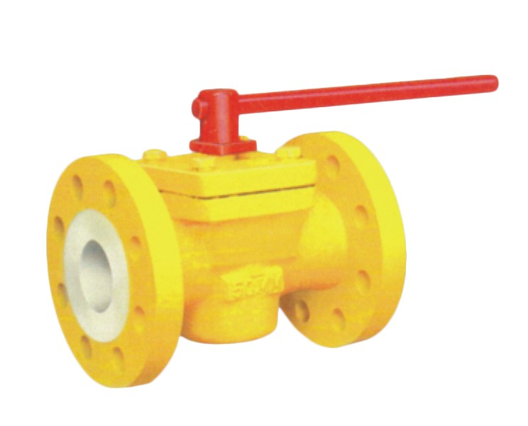 PFA / FEP Lined Plug Valve Manufacturer, Supplier, and Exporters - Sigma Polymers Engineering Company in Gujarat, India